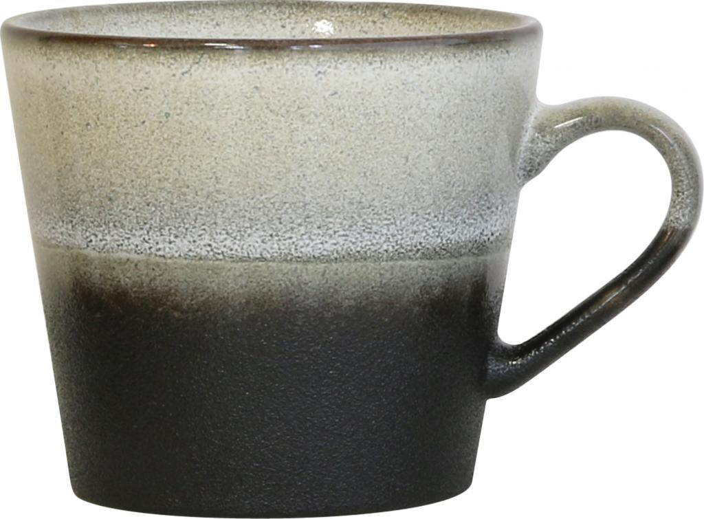 cappuccinotasse 70 39 s keramik rock hk living kaufen. Black Bedroom Furniture Sets. Home Design Ideas
